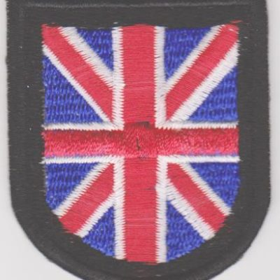 GERMAN ARMY BRITISH FREE KORPS SLEEVE SHIELD