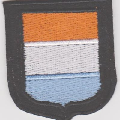 GERMAN ARMY DUTCH VOLUNTEERS SLEEVE SHIELD PATCH