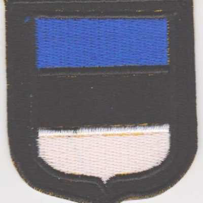 GERMAN ARMY ESTONIA VOLUNTEERS SLEEVE SHIELD