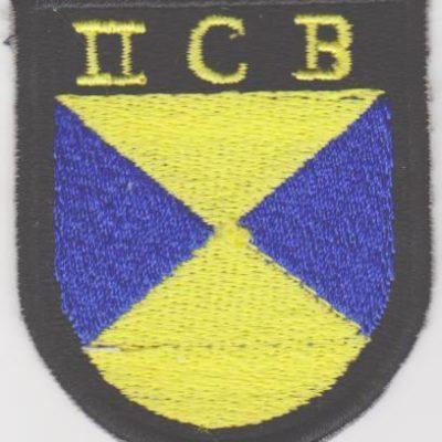 GERMAN ARMY II C B VOLUNTEERS SLEEVE SHIELD PATCH
