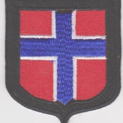 GERMAN ARMY NORWEGIAN VOLUNTEERS SLEEVE SHIELD