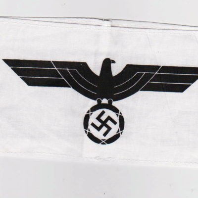 German Army officer cadet School armband