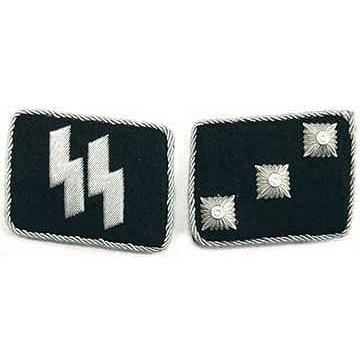 SS Untersturmfuhrer Collar Tabs