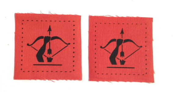 British Anti-Aircraft Command Division patches