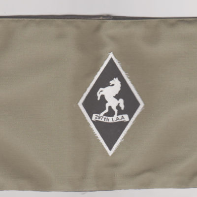 British army 297th LAA Regiment Armband