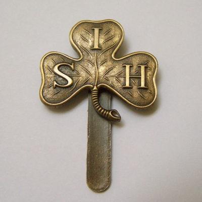 South Irish Horse Cap Badge