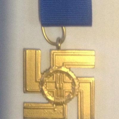 SS 12 year long service award