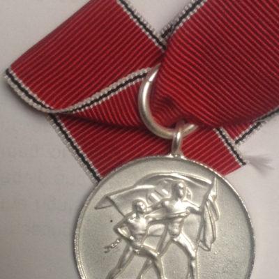 German Anschluss Medal