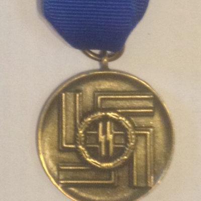 SS 8 year long service award
