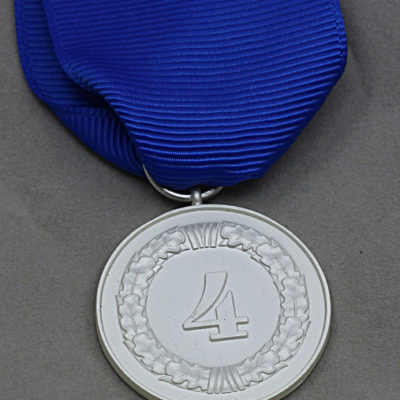 GERMAN ARMY 1957 Issue 4 Year Service medal reverse