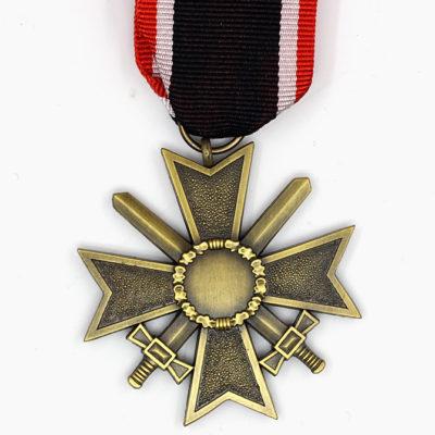 GERMAN ARMY War Merit Cross w/swords 2nd class 1957 issue reverse