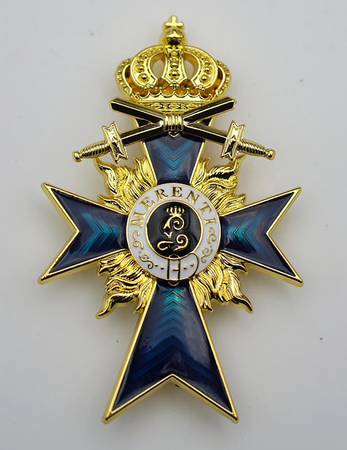 Bavarian Merit Cross 2nd Class with Swords