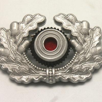 Heer Cap Wreath & Cockade in Silver