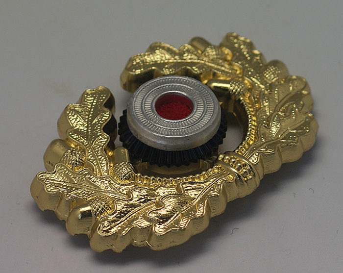 Heer Cap Wreath & Cockade in Gold