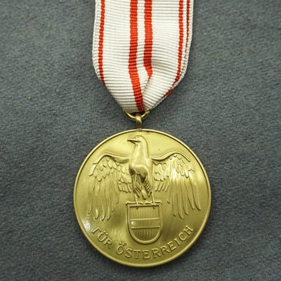 Austrian War Commemorative Medal 1914 – 1918