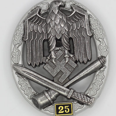 General Assault Badge 25 Engagements