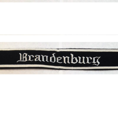 German Army BRANDENBURG CUFF TITLE WOOL