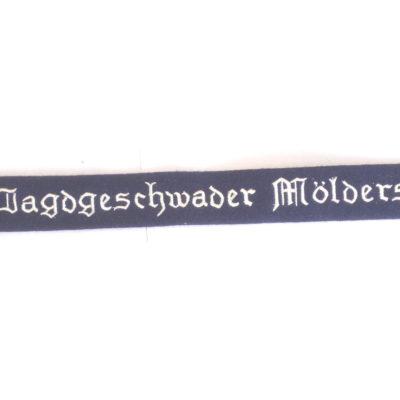 German Luftwaffe Jagdgeschwader Molders Cuff title