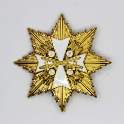 Grand Cross of the Order of the German Eagle in Gold with Star