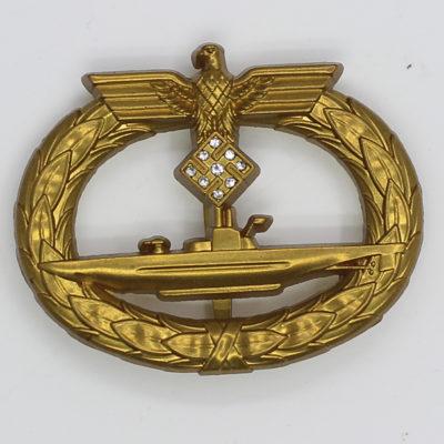 U-Boat Badge with Diamonds