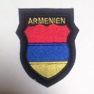 GERMAN ARMY ARMENIEN VOLUNTEERS SLEEVE SHIELD