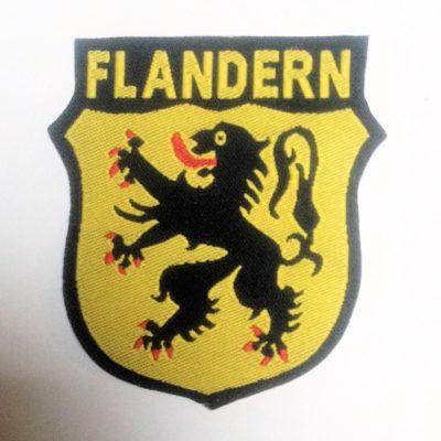 GERMAN ARMY FLANDERN VOLUNTEERS SLEEVE SHIELD