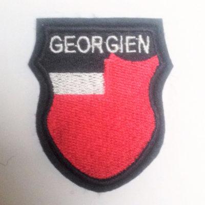 GERMAN ARMY GEORGIEN GEORGIA VOLUNTEERS SLEEVE SHIELD