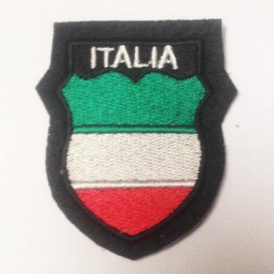 GERMAN ARMY ITALIA ITALIAN VOLUNTEERS SLEEVE SHIELD