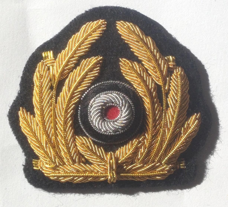 Kriegsmarine Officers Cap Wreath